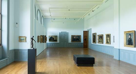 Ausstellungsansicht Werke aus der Sammlung...