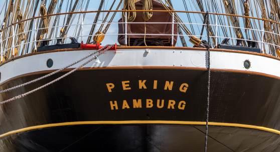 In neuem Glanz und frisch restauriert kehrt die PEKING nach Hamburg zurück, Foto: Jan Sieg