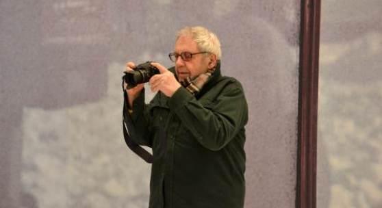 Saul Leiter im Haus der Photographie in den Deichtorhallen Hamburg. Foto: Matthias Schönebäumer / Deichtorhallen