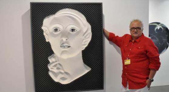 Michael Oess von der Galerie Neue Kunst Gallery.