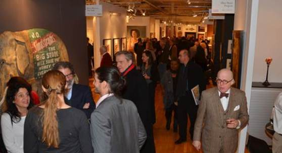 Guests at the 2014 Metro Show Opening Night Preview