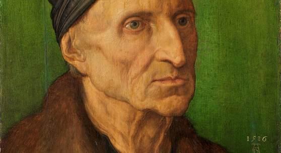 Albrecht Dürer, Bildnis des Nürnberger Malers Michael Wolgemut, 1516