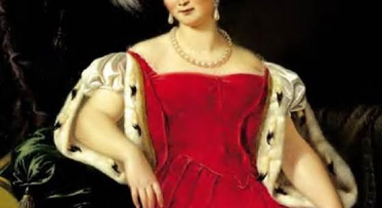 Julie Gräfin von Egloffstein: Königin Therese von Bayern, 1836, Öl auf Leinwand,, Foto: Wittelsbacher Ausgleichsfond, Schloss Nymphenburg