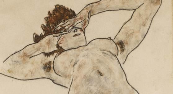 Egon Schiele, Akt (Nude), 1917 (est. £180,000-250,000)