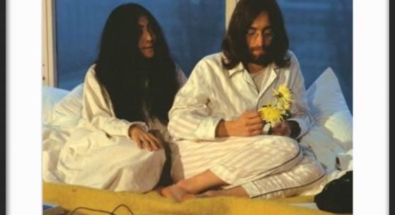 """Bed-In For Peace"" - John Lennon & Yoko Ono (c) Elmar Welge"