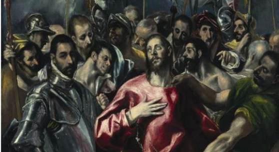 El Greco (Doménikos Theotokópoulos) (1541-1614)  und Werkstatt, Entkleidung Christi, zw. 1580 und 1595,  Öl auf Leinwand, 165 x 98,8 cm  © Bayerische Staatsgemäldesammlungen,  Alte Pinakothek, München