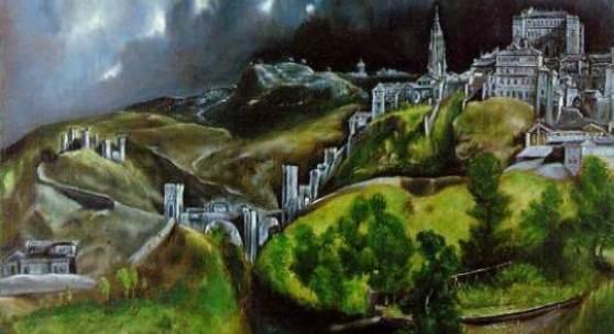 El Greco Blick auf Toledo, Metropolitan Museum of Art, New York El Greco Blick auf Toledo, Metropolitan Museum of Art, New York. Bildmaterial: de.academic.ru