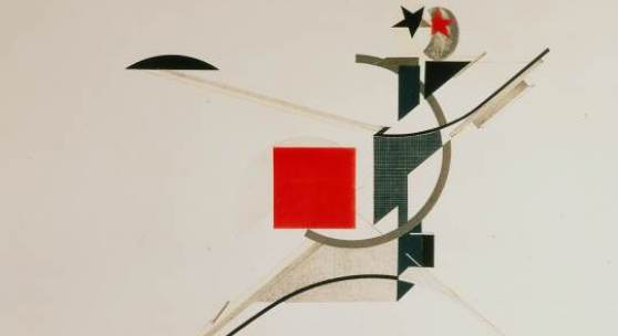 El Lissitzky, The New Man, 1923,  Collection Van Abbemuseum, Foto: Peter Cox