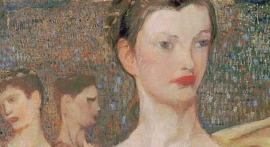 Elena Luksch-Makowsky, Adolescentia, 1903 © Belvedere, Wien
