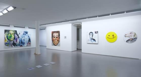 Elke Silvia Krystufek, Exhibition view, 2020