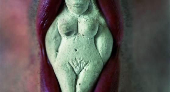 Ernesto Neto O escultor e a deusa, 1995 In Zusammenarbeit mit Murilo Meirelles © Ernesto Neto, 2015 Foto: Murilo Meirelles