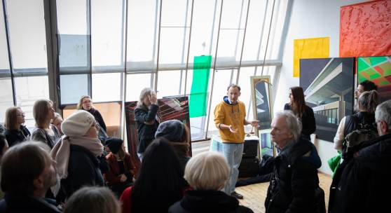 Open Studio Day 2018 / Förderateliers des Bundes – Westbahnstraße Foto: © eSeL