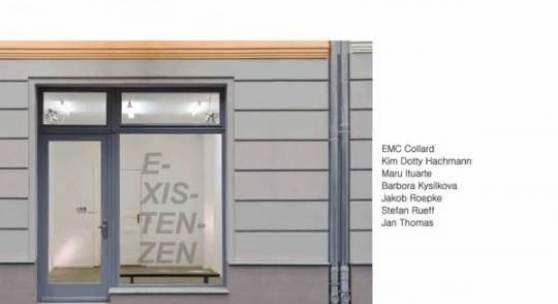 eine Gruppenausstellung mit Werken von EMC Collard, Kim Dotty Hachmann, Maru Ituarte, Barbora Kysilkova, Jakob Roepke, Stefan Rueff und Jan Thomas