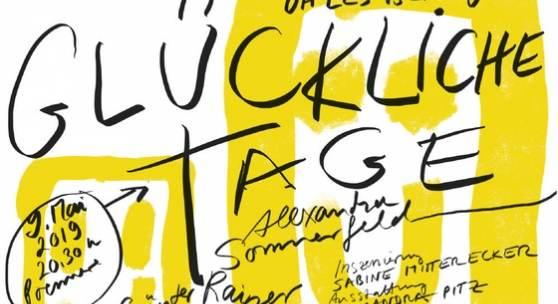 GLÜCKLICHE TAGE von Samuel Beckett