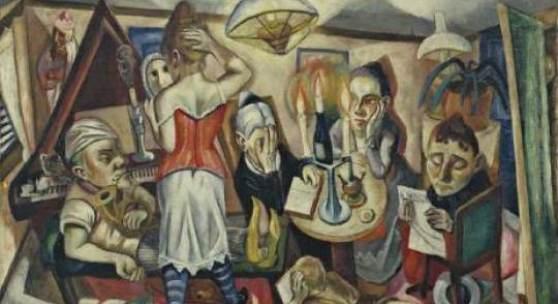 Familienbild 1920 Öl auf Leinwand, 65,1 x 100,9 cm Museum of Modern Art, New York. © VG Bild-Kunst Bonn, 2011