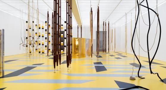 """INSTALLATIONSANSICHT AUSSTELLUNG """"RESONATING SPACES"""" Fondation Beyeler, Riehen/Basel, 2019; Foto: Stefan Altenburger"""