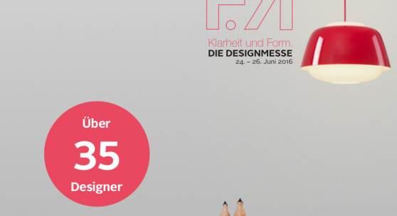 Designmesse Flyer