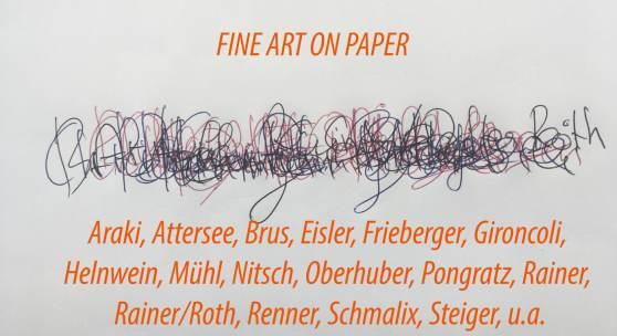 Fine Art on Paper