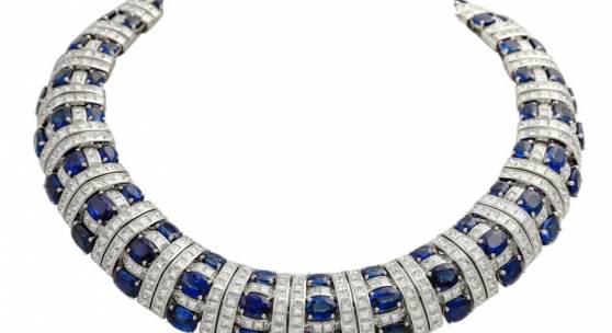 Foto: POPLEY DUBAI Haute Couture Collier, mit 676 Diamanten zus. ca. 105 ct