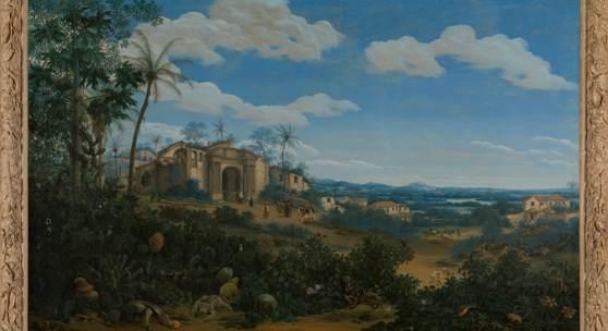 View of Olinda, Brazil, Frans Jansz Post, 1662. Rijksmuseum