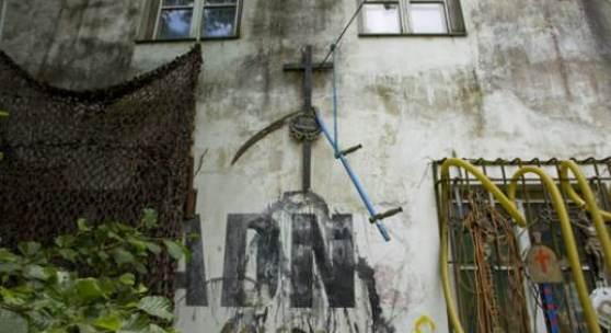 Bildlegende: Gehöft von Franz Graf im Waldviertel Foto: Oliver Ottenschläger / BAWAG Contemporary
