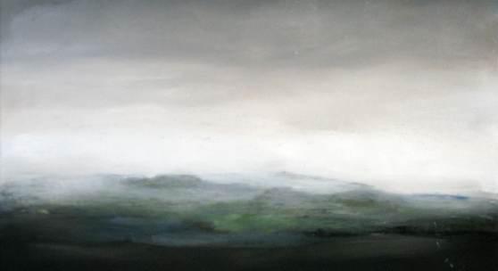Bild 20: Gabriele Einstein, Bale mountains; Öl auf Leinwand, 2019; 80&60 cm. 1.400 €
