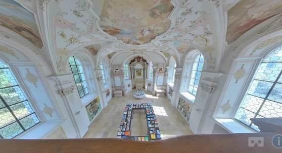 Impressionen aus den Ausstellungsräumen Galerie Schrade Mochental