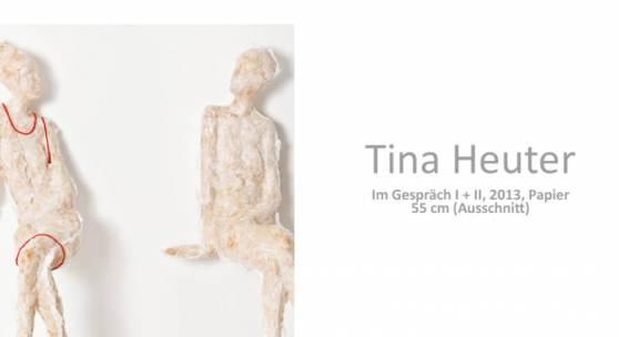 Tina Heuter, Plastiken aus Seidenpapie