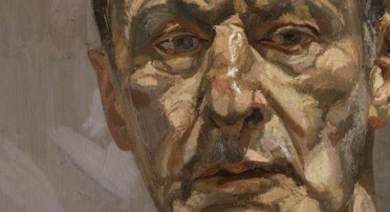 Reflection (Self Portrait) (1.4 MB) Lucian Freud (1922- 2011) 1985, Öl auf Leinwand Privatsammlung © The Lucian Freud Archive / The Bridgeman Art Library
