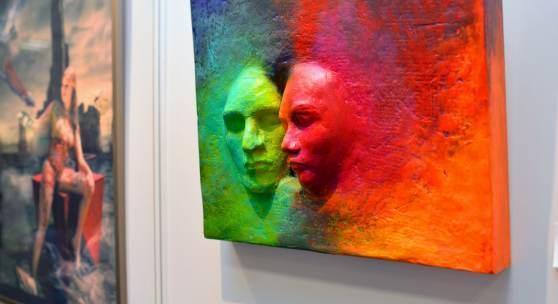 ((Bild Gemälde ARTe, Bildnachweis: Messe Sindelfingen)): Zeitgenössische Arbeiten, präsentiert als Kunsterlebnis in sich: Die ARTe ist die Messe für zeitgenössische Kunst in der Metropolregion Stuttgart.