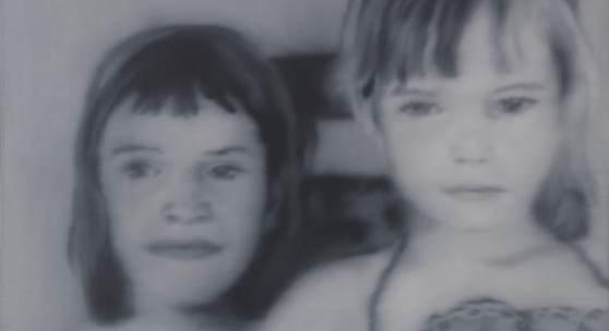 Gerhard Richter Christiane und Kerstin Öl auf Leinwand, 1968 86 x 91 cm / 38.8 x35.8 inches € 600.000-800.000
