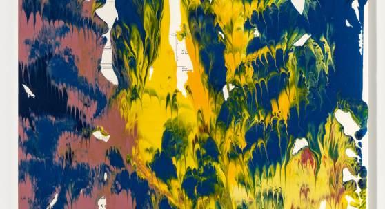 Gerhard Richter Eins von insgesamt drei Werken Gerhard Richters, die am 20. Juni 2015 bei Van Ham versteigert werden.