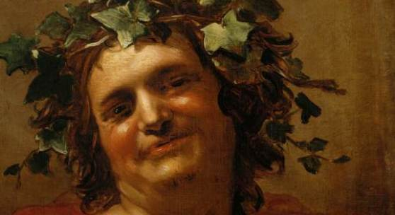 Bacchus (1.1 MB) Jan van Dalen (vor 1620 Antwerpen? – nach 1653) 1648 datiert Leinwand, H. 72 cm, B. 58,2 cm ©Kunsthistorisches Museum Wien