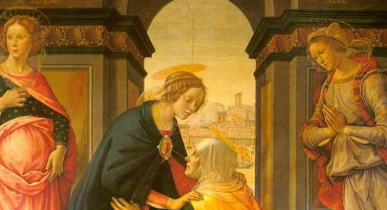 Visitation  1491  Musee du Louvre, Paris