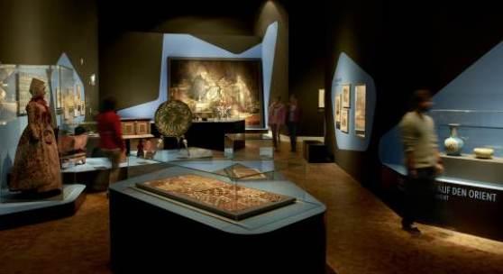 """Blick in die Ausstellung, Bereich """"Weltausstellung"""""""