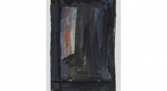 Günther Förg Fenster, 1986 Gouache und Tusche 26,3 x 17,2 cm / 10.3 x 6.7 inches Ergebnis: € 4.701