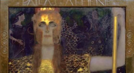 Pallas Athene, 1898 Gustav Klimt Öl auf Leinwand © Wien Museum