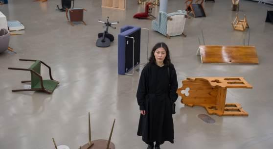Künstlerin Haegue Yang, Foto: Universalmuseum Joanneum/N. Lackner