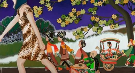 one artist room: Jutta Duschl mit grafischen Arbeiten