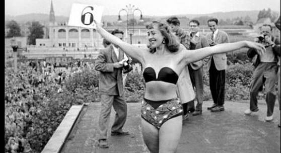 Abbildung: © Erich Lessing  Miss Wahl in Polen, 1956