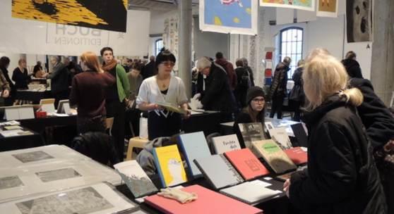 HAW Hamburg auf der Norddeutschen Handpressenmesse, Foto SHMH Museum der Arbeit