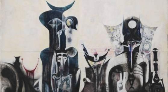 Ibrahim El-Salahi Reborn Sounds of Childhood Dreams 1 1961-65 © Ibrahim El-Salahi Tate