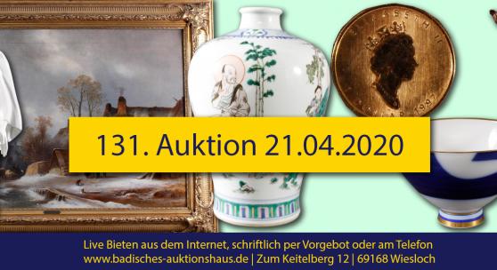 131. Auktion Badisches Auktionshaus
