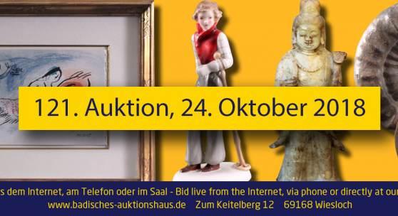 121. Auktion Badisches Auktionshaus