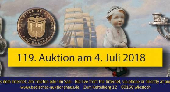 119. Auktion Badisches Auktionshaus