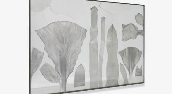 Heinz Mack (1931) Kleiner Urwald | 1966Objektkasten 204 x 304 x 7cm Ergebnis: 1.016.000 Euro  Int. Auktionsrekord für diesen Künstler*
