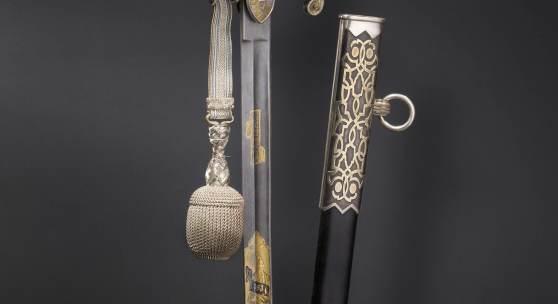 Erzherzog Franz Ferdinand von Österreich-Este - Luxussäbel. Zuschlag: 200000 Euro