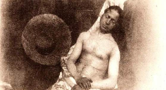 Hippolyte Bayard, 'Portrait of the Artist as a Drowned Man', 1840, France