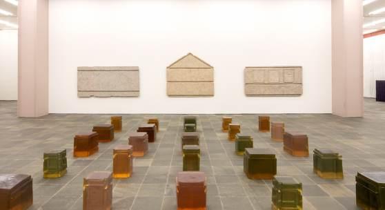 Ausstellungsansicht: RACHEL WHITEREAD © Belvedere, Wien, 2018 / Foto: Johannes Stoll