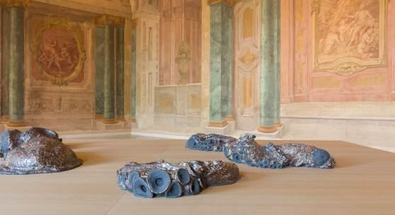Ausstellungsansicht Carlone Contemporary: David Zink Yi Foto: Johannes Stoll © Belvedere, Wien